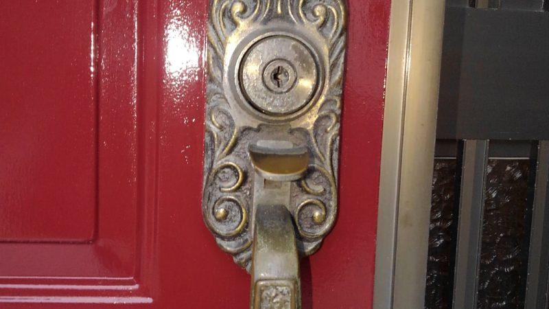 鍵が古くなったので…