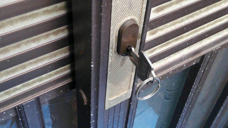 鍵が壊れて出掛けられない