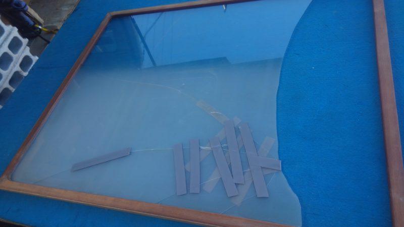 ガラス工事