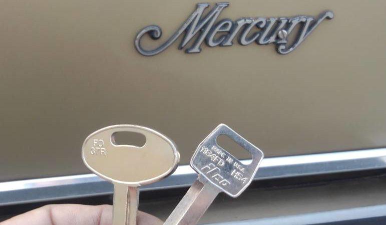 車鍵紛失 アメ車 フォード マーキュリー