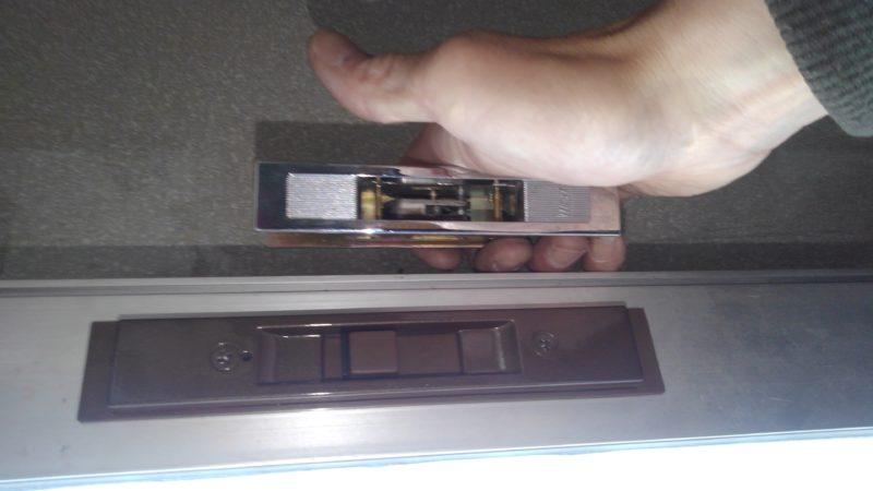 出入口の鍵修理